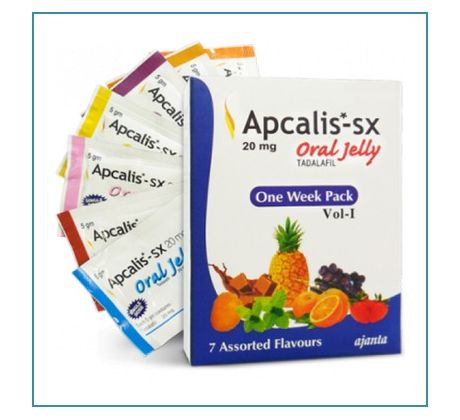 Apcalis 20mg SX Oral Jelly